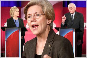 Hillary Clinton, Elizabeth Warren, Bernie Sanders