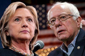Hillary Cllinton, Bernie Sanders