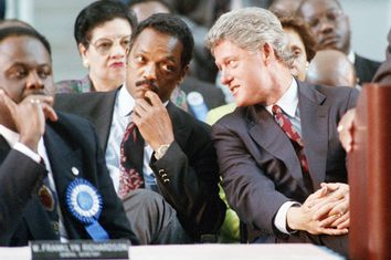 Jesse Jackson, Bill Clinton