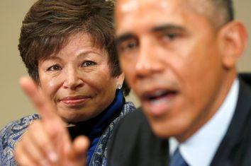 Valerie Jarrett, Barack Obama