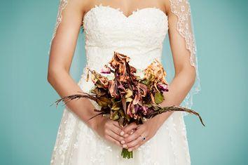 Dead Bridal Bouquet