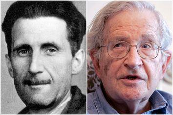 George Orwell, Noam Chomsky