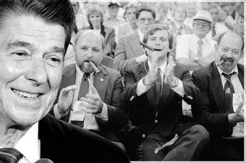 Ronald Reagan; Ed Rollins, Lee Atwater, Lyn Nofziger