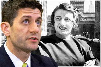Paul Ryan, Ayn Rand