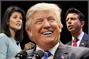 Nikki Haley, Donald Trump, Bobby Jindal