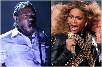 Kendrick Lamar, Beyoncé