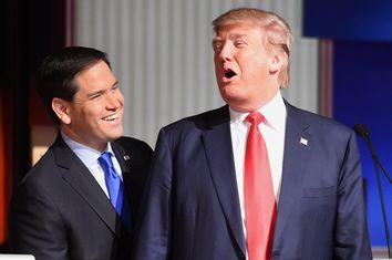 Marco Rubio, Donald Trump