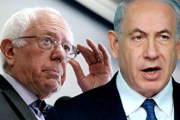 Bernie Sanders, Benjamin Netanyahu