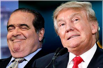 Antonin Scalia, Donald Trump