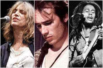 Patti Smith, Jeff Buckley, Bob Marley