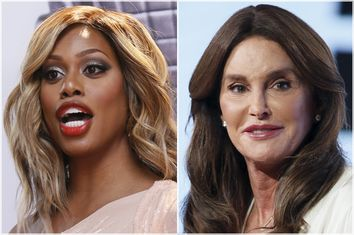 Laverne Cox, Caitlyn Jenner