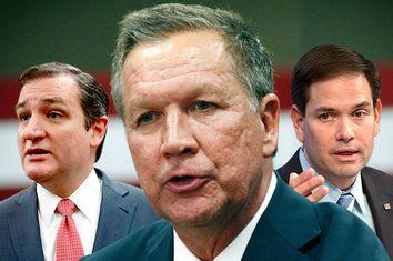 Ted Cruz, John Kasich, Marco Rubio