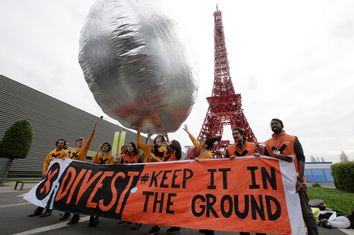 Fossil Fuel Divestment Protest