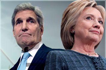 John Kerry, Hillary Clinton