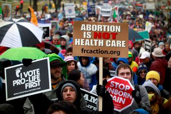 Anti-Abortion Protesters