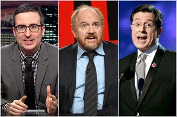 John Oliver, Louis C.K., Stephen Colbert