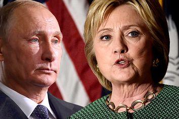 Vladimir Putin, Hillary Clinton
