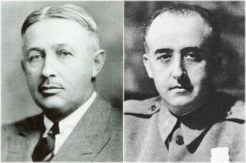 Torkild Rieber, Francisco Franco