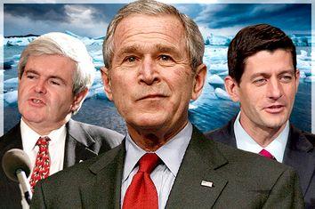 Newt Gingrich, George W. Bush, Paul Ryan