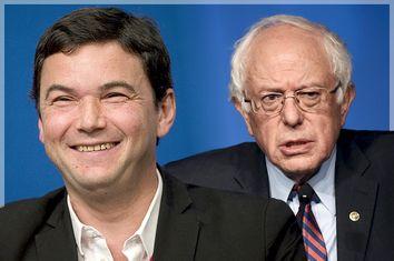 Thomas Piketty, Bernie Sanders