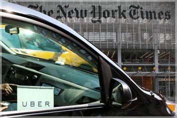 Uber, New York Times