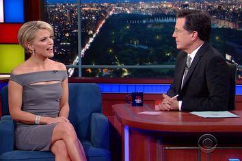 Megyn Kelly, Stephen Colbert