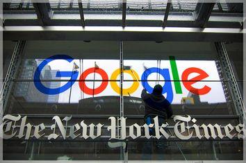 New York Times, Google