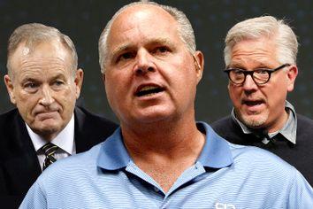 Bill O'Reilly, Rush Limbaugh, Glenn Beck