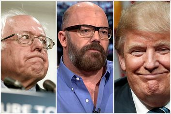 Bernie Sanders, Andrew Sullivan, Donald Trump