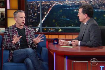 Dan Savage, Stephen Colbert