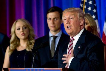Donald Trump, Tiffany Trump, Jared Kushner