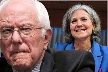Bernie Sanders, Jill Stein
