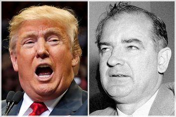 Donald Trump, Joseph McCarthy