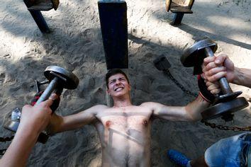 Ukraine Outdoor Gym