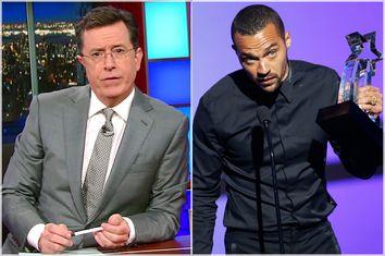 Stephen Colbert; Jesse Williams