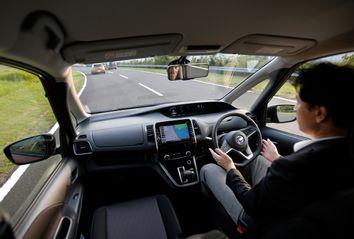 Japan Self Driving Car