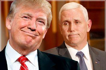 Donald Trump; Mike Pence
