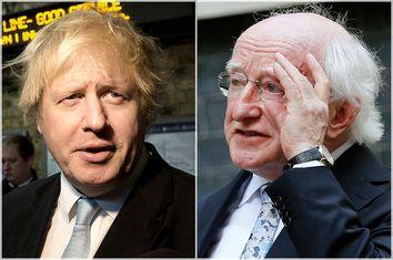 Boris Johnson; Michael D. Higgins