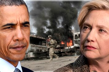 Barack Obama; Hillary Clinton