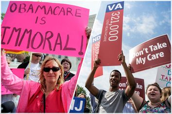Obamacare Protesters