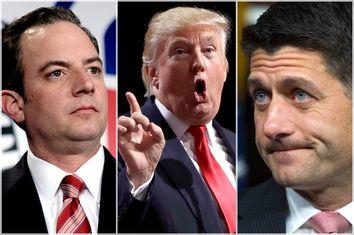 Reince Priebus; Donald Trump; Paul Ryan