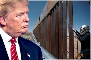 Donald Trump; Border Wall