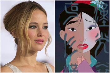 Jennifer Lawrence; Mulan
