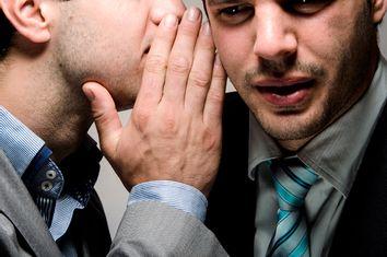 Men Whispering
