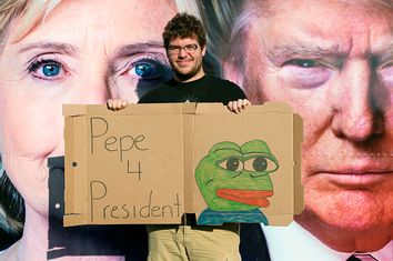 Pepe the Frog Sign