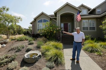 California Drought-Lawns Rip-out