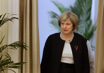 Narendra Modi, Theresa May
