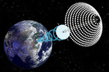 Space Solar Plant