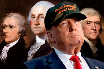 Donald Trump; Founding Fathers