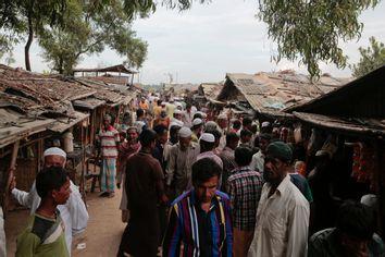 Bangladesh Fleeing Rohingya